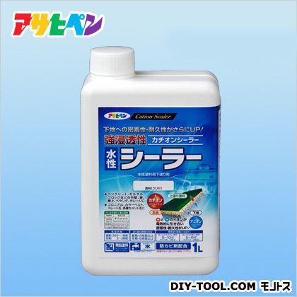 強浸透性水性シーラー1L クリヤ 1L