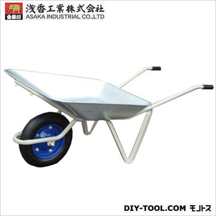 【送料無料】浅香工業 金象一輪車2才パンクレス車輪付 181022 1台