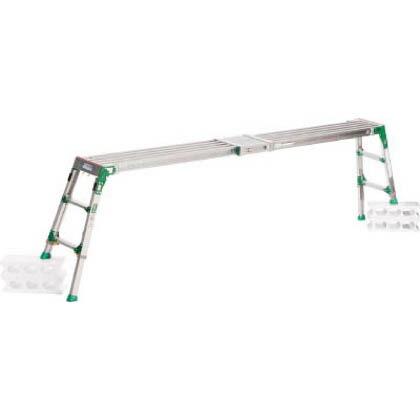 伸縮足場台1.63~2.66m最大使用質量120kg   VSR-2609F