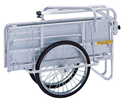 アルミ製折りたたみ式リヤカー(リアカー)