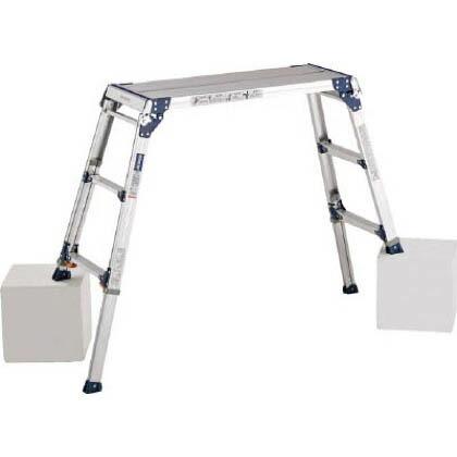 足場台天板高さ0.72~1.02m最大使用質量100kg   PXGE710FX
