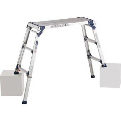 足場台天板高さ1.01~1.31m最大使用質量100kg   PXGE1012FX