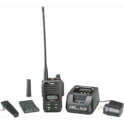 【送料無料】アルインコ デジタル登録局無線機1Wタイプ薄型セット 271 x 148 x 79 mm DJDP10A