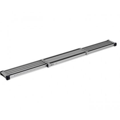 伸縮式足場板VSSR―H(スベリ止め付き)  全長2.01~3.60m VSSR360H 1 台