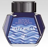 ウォーターマン ボトルインク フロリダブルー S2 270 130