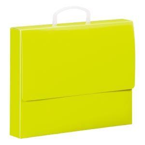 キングジム Toffyキャリングケース 黄緑 275TF