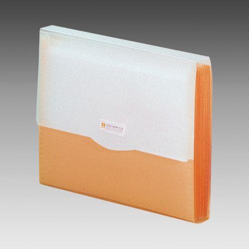 リヒトラブ リクエスト・ドキュメントファイル オレンジ G5610-4