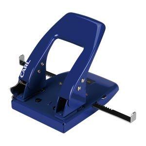 カール事務器 2穴パンチ ブルー SD-88-B