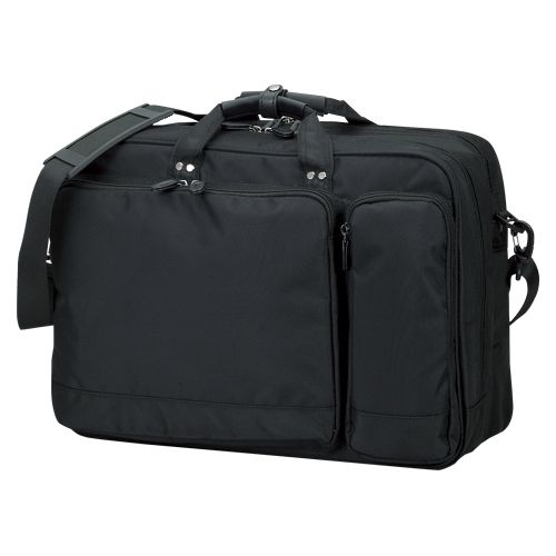 クラウン カジュアルビジネスバッグ 黒 CR-BB742-B