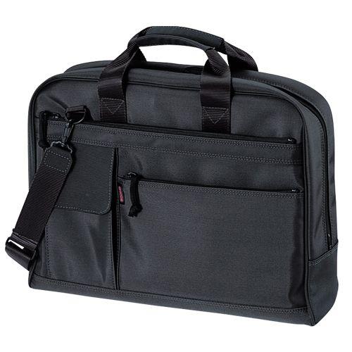 クラウン カジュアル・ビジネスバッグ 黒 CR-BB75-B