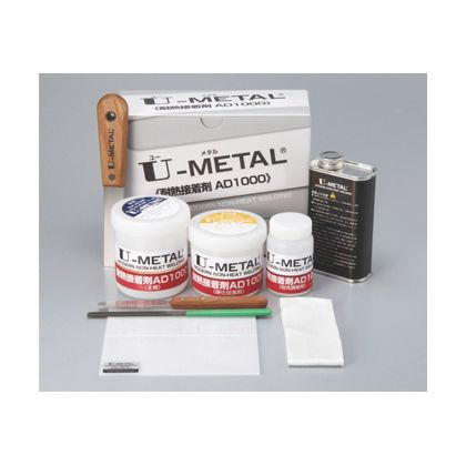 Uメタル補修材耐熱接着剤AD1000500gセット   76951