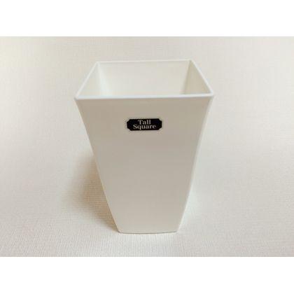 株式会社アイカ トールスクエア5号 ホワイト 約12×12×19.5cm