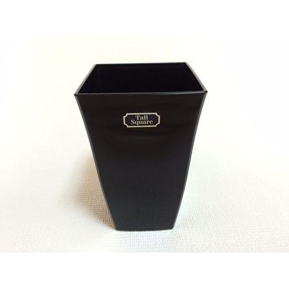 株式会社アイカ トールスクエア5号 ブラック 約12×12×19.5cm