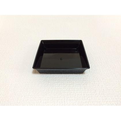 株式会社アイカ TS受皿6号 ブラック 約13×13×3cm