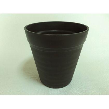 株式会社アイカ クレイポット12号 ブラック 約35×37.7Hcm