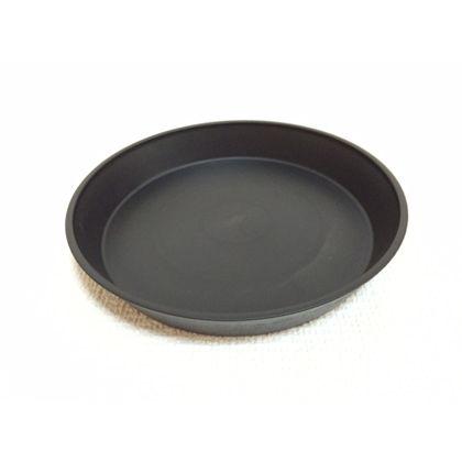 株式会社アイカ クレイポット受け皿6号 ブラック 約14.7×2.4Hcm