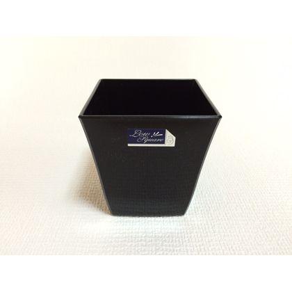 株式会社アイカ ロースクエア6号 ブラック 約14×14Hcm