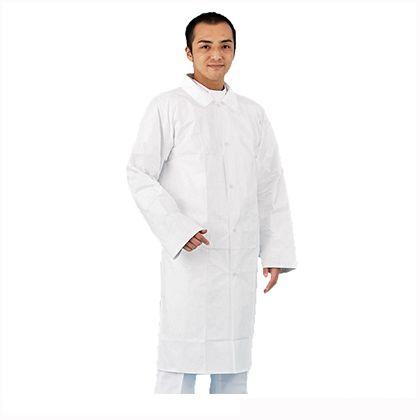 アゼアス デュポン(TM)タイベック(R)製白衣 3L 4250-3L