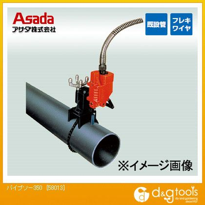 レシプロ式パイプ切断機パイプソー350(水道用)   58013