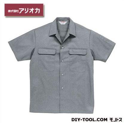 半袖開襟シャツ グレー 6L A4700H