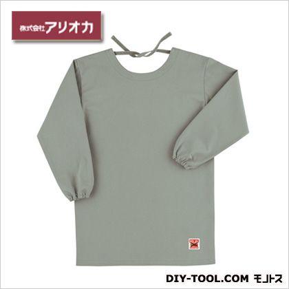 溶接・造船作業着(作業服)防炎エプロン(割烹着型) アースグリーン  MD200