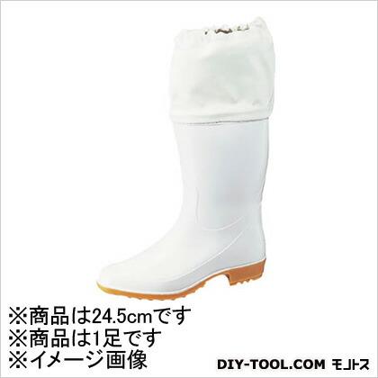 【送料無料】Achilles ホワイトカバー付衛生長靴ワークマスターTSM955白24.5cm 344 x 305 x 108 mm TSM 9550 W24.5