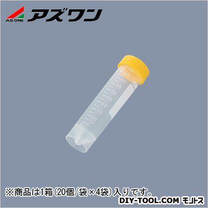 遠沈管  50ml 2-5488-12 1箱(20個/袋×4袋入)