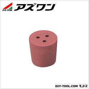 穴付き赤ゴム栓   1-7649-05 1 個