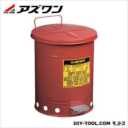 ジャストライトオイリーウエスト缶14ガロン  φ408×514mm約53 2-1063-03