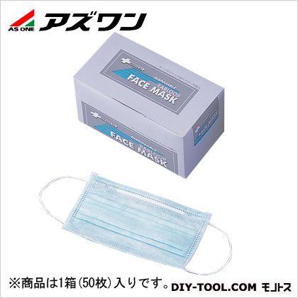 サージカルマスク中間プレート入 ブルー 150×175mm 1-9698-01 1箱(50枚入)
