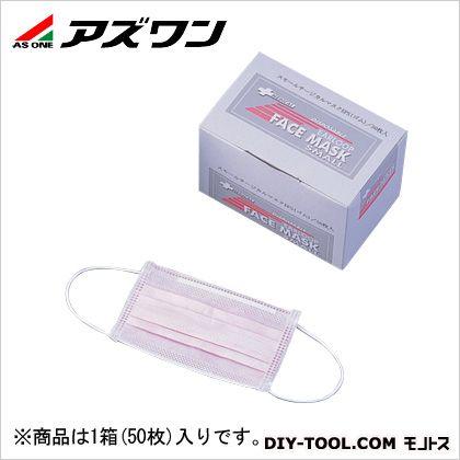 サージカルマスク中間プレート入 ピンク 150×150mm 1-9698-02 1箱(50枚入)