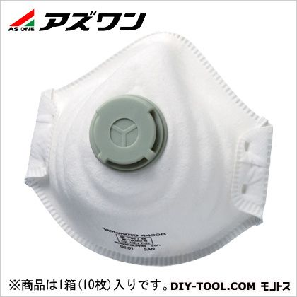 使い捨て式防塵マスク   1-8879-02 1箱(10枚入)