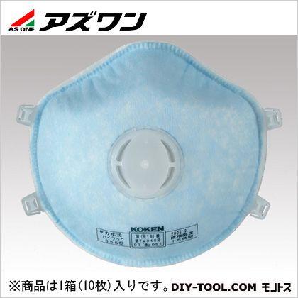 使い捨て式防塵マスクハイラック   1-1990-01 1箱(10枚入)