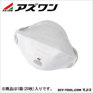N95マスク個別包装タイプ スタンダード   0-8084-01 1箱(20枚入)