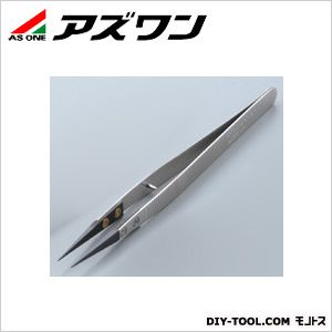 【送料無料】アズワン セラミックピンセット ストッパーピン付き 135mm 1-6808-02 1本