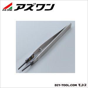 【送料無料】アズワン セラミックピンセット ストッパーピン付き 135mm 1-6808-04 1本