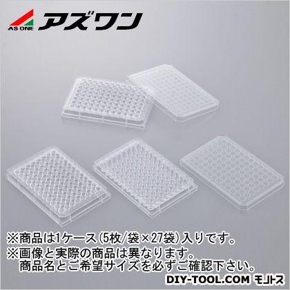 【送料無料】アズワン ビオラモ96ウェルプレート 未滅菌 1-1601-02 5枚