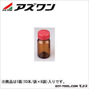 規格瓶SCC 茶 50ml 2-4998-04 1箱(10本/袋×8袋入)