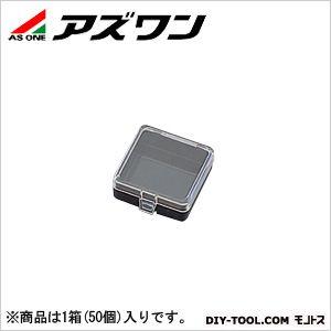 ヒンジ付角型ケース(導電+帯電防止)   1-9408-21 1箱(50個入)