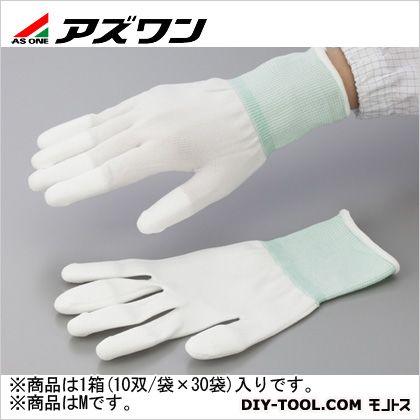 【送料無料】アズワン PUコート手袋オーバーロック 大箱 M 1-2263-63 1箱(10双/袋×30袋入)