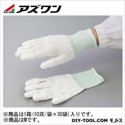 【送料無料】アズワン PUクール手袋オーバーロック 大箱 M 2-2132-53 1箱(10双/袋×30袋入)