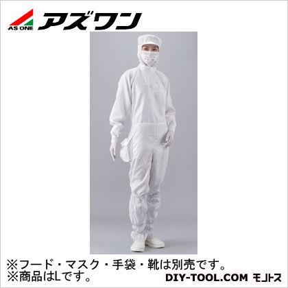 APクリーンスーツ 白 L 1-2311-03