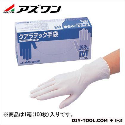 クアラテック手袋パウダー付  M 6-3047-02 1箱(100枚入)