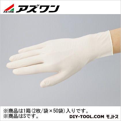 【送料無料】アズワン アズラボ滅菌手袋 ナチュラル S 1-353-01 2枚
