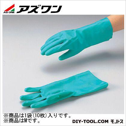 アズワン ニトリルラテックス手袋 M 8-1056-02 1袋(10双入)