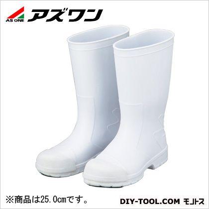 アズワン サニフィット耐油長靴先芯入 白 25.0cm 2-3820-01 0