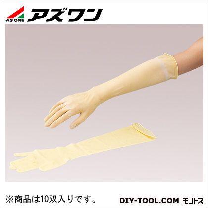 【送料無料】アズワン 天然ラテックスゴムロング手袋CIC M 2-4926-02 10双