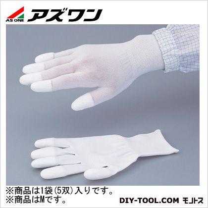 PUコートナイロン手袋(指先コート)  M 2-8292-02 1袋(5双入)