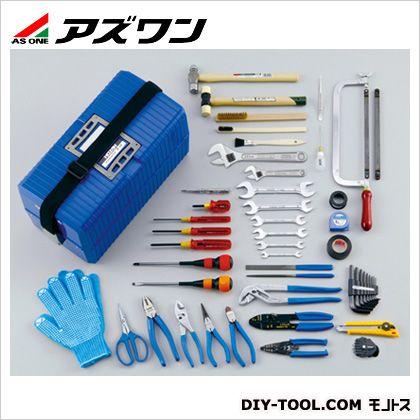 【送料無料】アズワン 工具 セット 1-2351-01 工具箱 ツールセット 手動工具セット