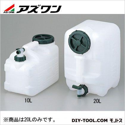 ポリタンクマグナムワイド20L  255×395×320mm 1-9402-02